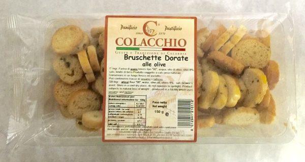 Colacchio Bruschetta Olive Flavor