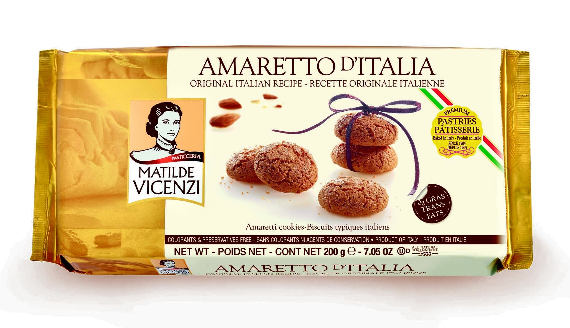 Amaretto Cookies - Vicenzi