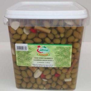 Small Green Calabresi Olives - Attina