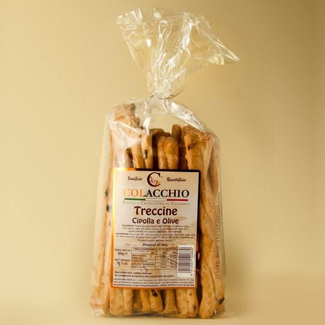 Colacchio Treccine Cipolla & Olive