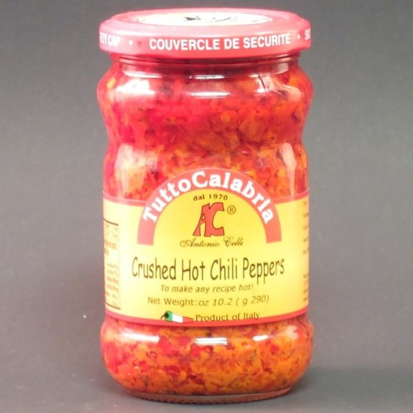 Hot Chili Crushed Peppers - Tutto Calabria