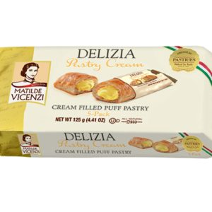 Delizia PuffPastry Cream Filled - Vicenzi