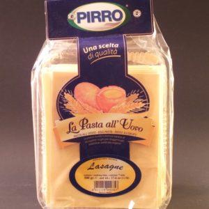 Lasagne all' Uovo Egg Lasagna - Pirro