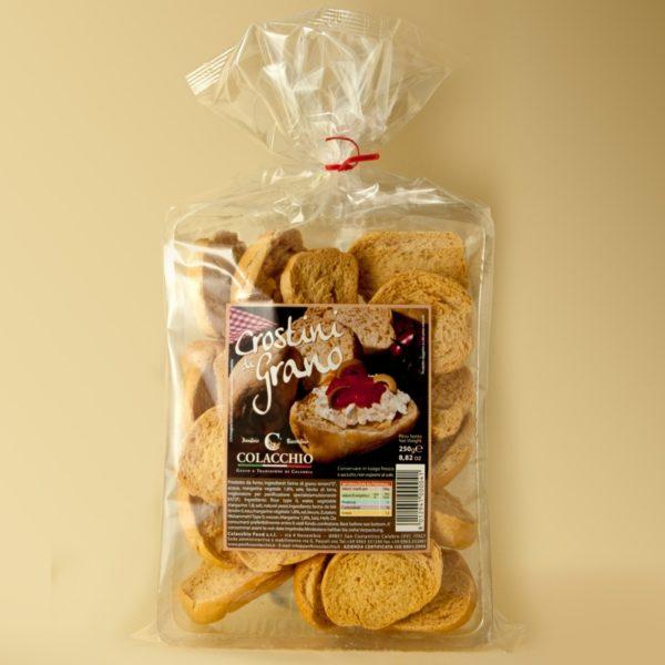 Colacchio Crostini di Grano Whole Wheat