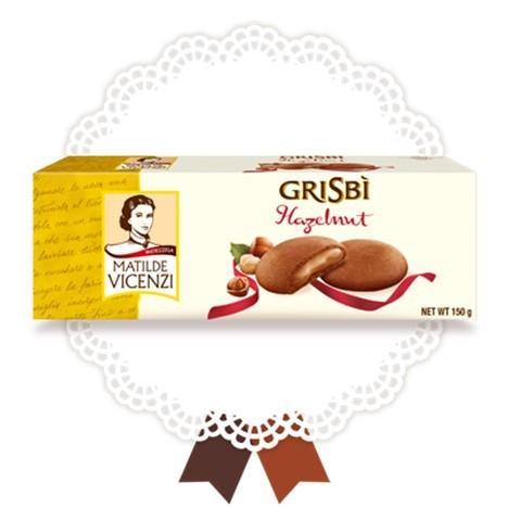 Grisbi Vicenzi Nocciola - Vicenzi