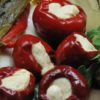 Hot Pepper Stuffed with Cheese - Tutto Calabria