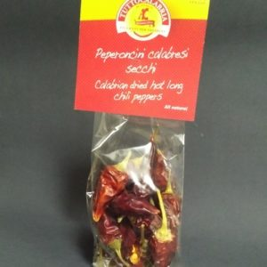 Hot Long Dried Peppers Loose - Tutto Calabria