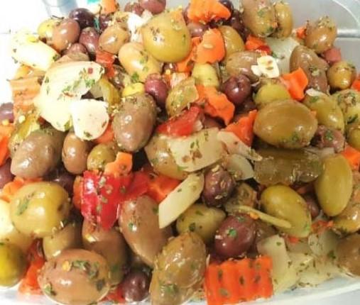 Olive Salad Mediterranean Style - Attina