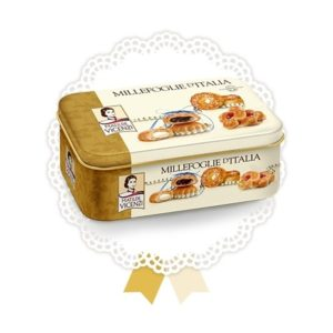 Millefoglie Mix Cookies in Tin - Vicenzi