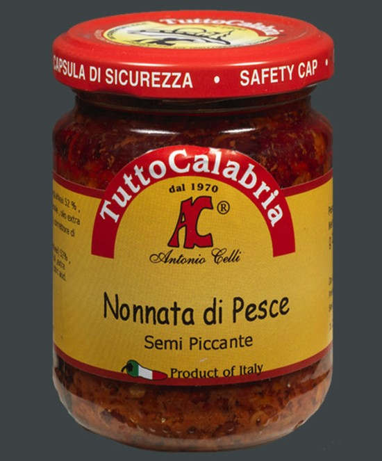 Neonata Rosamarina Piccante (Fish appetizer) - Tutto Calabria