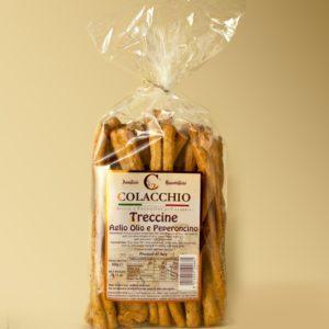 Treccine Aglio, Olio & Pepperoncino - Colacchio