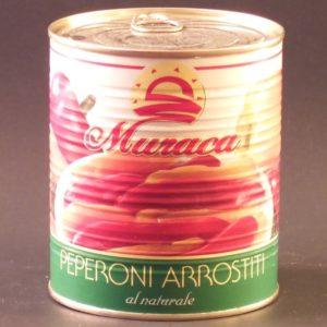 Pepperoni Arrosto al Naturale Roasted Peppers - Muraca