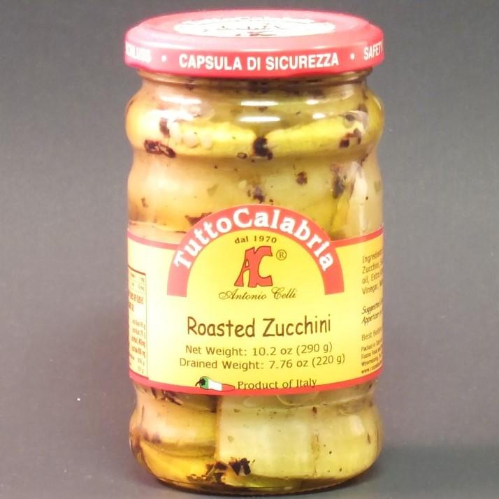 Roasted Zucchini in Oil - Tutto Calabria