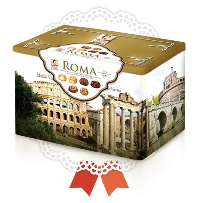 Roma Assorted Pastry Tin - Vicenzi