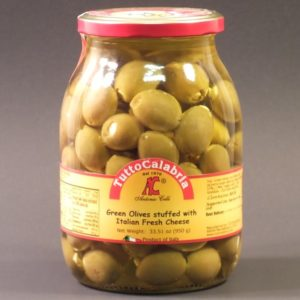 Olives Stuffed with Cheese - Tutto Calabria