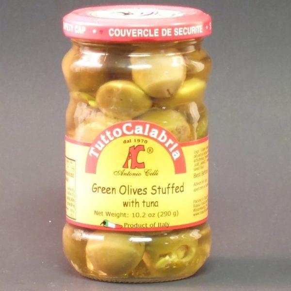 Olives Stuffed with Tuna - Tutto Calabria