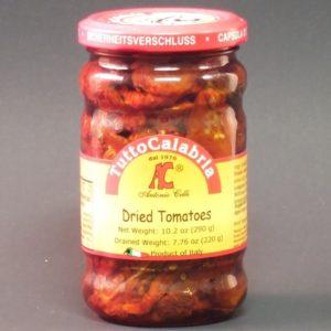 Sun Dried Tomatoes in Oil - Tutto Calabria