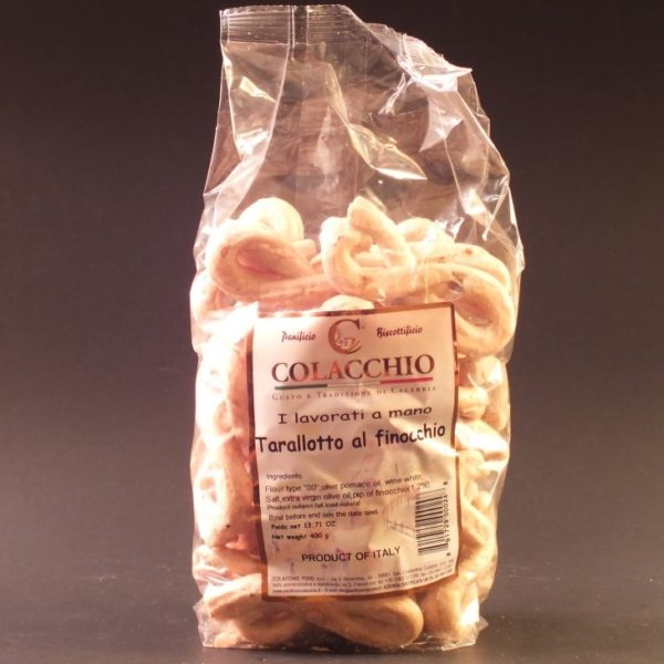 Tarallotto Al Finocchio (fennel) - Colacchio