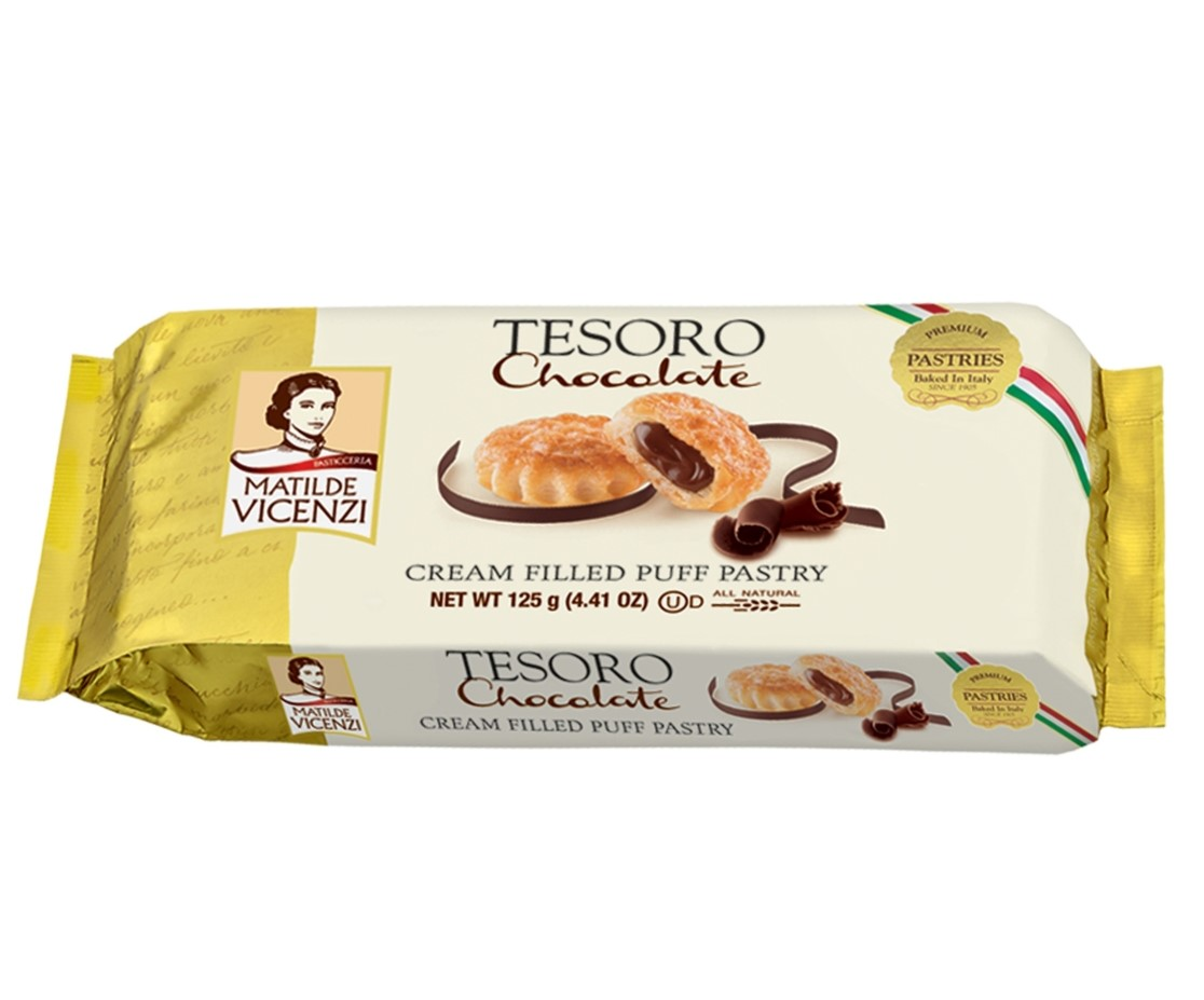 Tesoro Puff Pastry Chocolate - Vicenzi