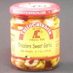 Tricolore Sweet Garlic Oil - Tutto Calabria