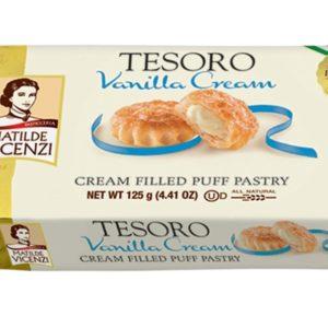 Tesoro Puff Pastry Vanilla - Vicenzi