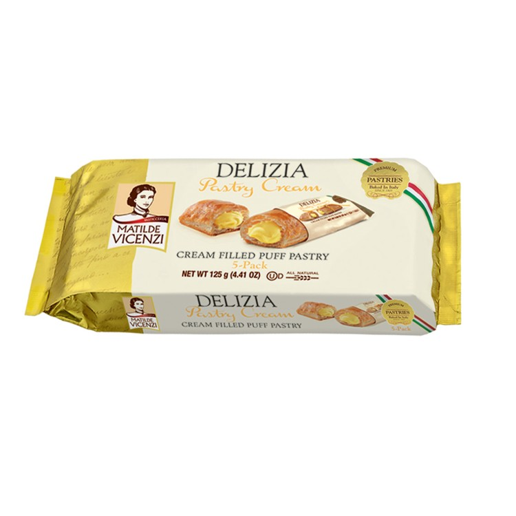 Delizia PuffPastry Cream Filled