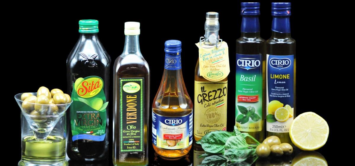 Imported Italian Olive Oils