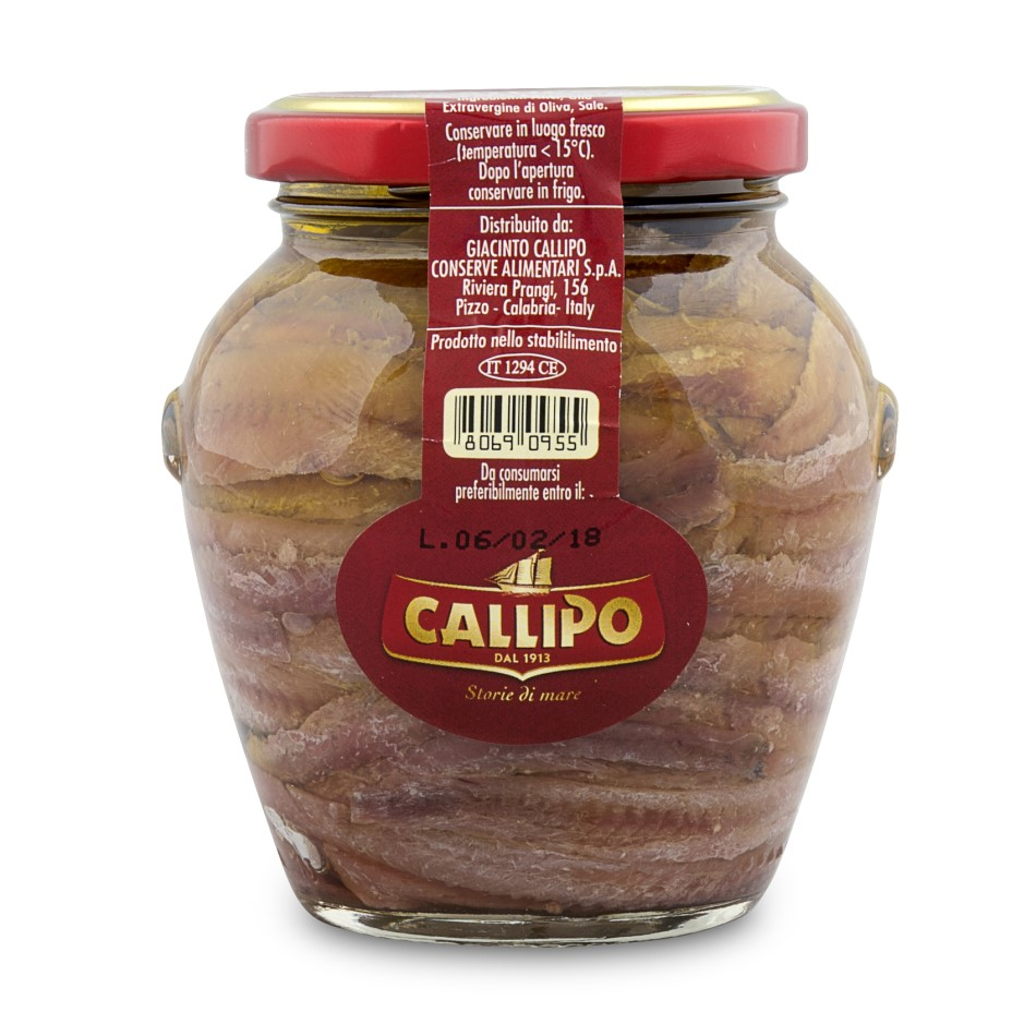 Callipo Alici Fillets in Olive Oil