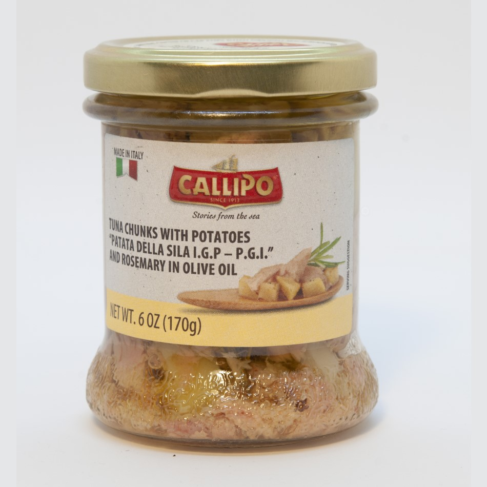Callipo Tuna Chunks with Potato & Rosemary