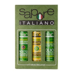 Sapore Tri Box Organic Gift Box