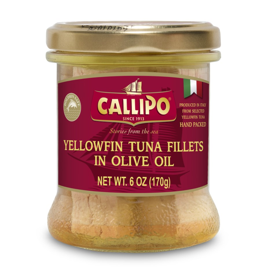 Solid Tuna Fillets In Olive Oil - Glass Jar