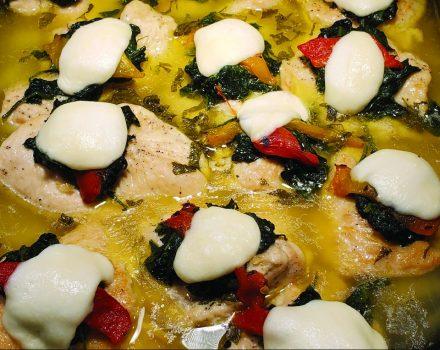 Chicken Florentina - Catering Menu
