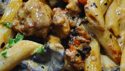 Pasta Alla Norcina - Catering Menu