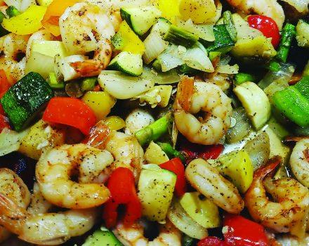 Shrimp Tricolor - Catering Menu